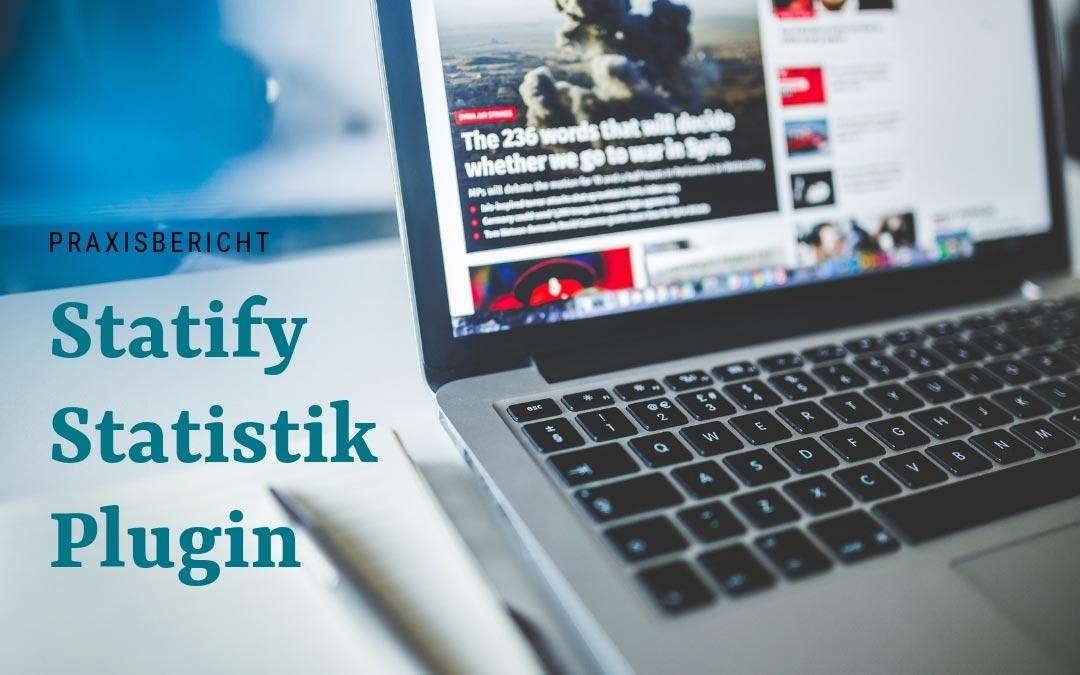 Statify: Statistik – Plugin mit eigebautem Datenschutz für WordPress