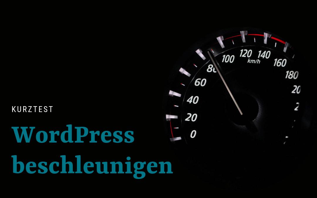 WordPress beschleunigen: die 6 wichtigsten Punkte