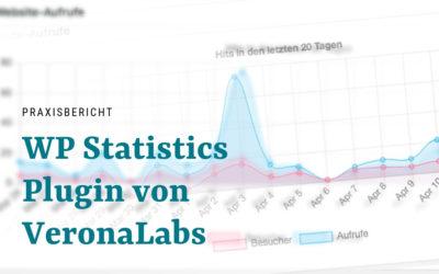 WordPress Statistik Plugin WP-Statistics von VeronaLabs – Datensparsam und informativ